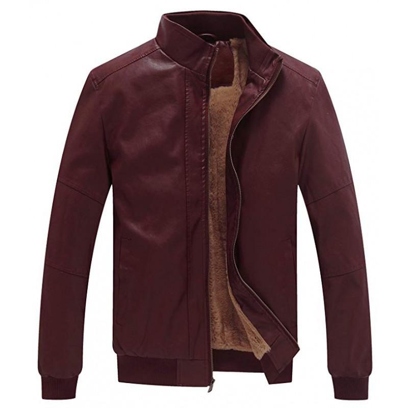 Men's Winter Fashion Faux Leather Jackets